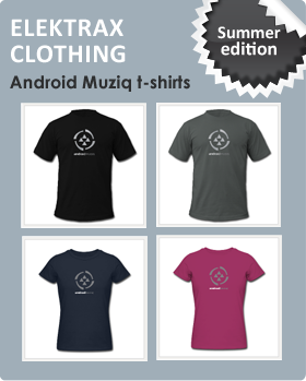 Elektrax Clothing - Android Muziq Summer Edition t-shirts