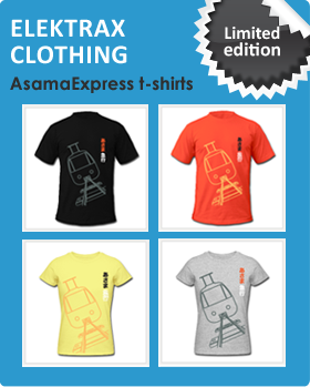 Elektrax Clothing - AsamaExpress Limited Edition t-shirts