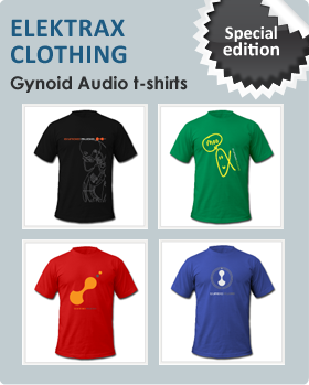 Elektrax Clothing - Gynoid Audio Special Edition t-shirts